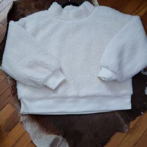 🆕️GAP Chunky Plush Ivory Turtleneck Sweater XL